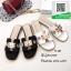 รองเท้าแตะฟั่นสีดำ Style Hermes (สีดำ ) thumbnail 4