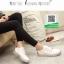รองเท้าผ้าใบสีขาว สไตล์ michael kors Top Trainers ส้นเงิน (สีขาว ) thumbnail 3