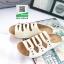 รองเท้าสไตล์เพือสุขภาพ คาดสีสลับ 5815-WHITE [สีขาว] thumbnail 3