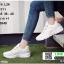 ผ้าใบสไตล์เกาหลีสายริปบิ้นโบว์ L26-WHI [สีขาว] thumbnail 1