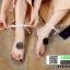รองเท้าแตะส้นแบน jelly sandals TIT01-WHI [สีขาว] thumbnail 3