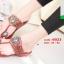 รองเท้าแตะแฟชั่นสีแดง Flowery Sandals (สีแดง ) thumbnail 3