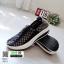 รองเท้าผ้าใบยางยืดเสริมส้น มีไซส์ 41 7013-ดำ [สีดำ] thumbnail 2