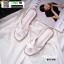รองเท้าแตะ HERMES logo sandal H750-WHI [สีขาว] thumbnail 1
