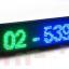 Single Color P10 6*1 ขนาด 202(W)x16(H)cm thumbnail 1