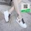 รองเท้าผ้าใบแฟชั่นสีขาว กรีนนูนหมีmoschino (สีขาว ) thumbnail 2