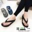 รองเท้าแตะพื้นสุขภาพ สไตล์ ฟิทฟล๊อป YT122-ดำ [สีดำ] thumbnail 5