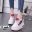 รองเท้าผ้าใบเสริมส้นนำเข้า สไตล์เกาหลี 0025-RED [สีแดง] thumbnail 1