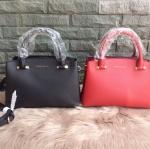 กระเป๋าแบรนด์ Charles & Keith รุ่น BASIC CITY BAG มี 2 สี ดำ, แดง