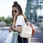 กระเป๋าเป้หนังแท้ แบรนด์ Amory รุ่น Cocco backpack มี 3 สี ดำ น้ำตาล ครีม