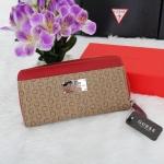 กระเป๋าสตางค์แบรนด์ Guess รุ่น limited edition ลายสกรีนตัว G สีแดง