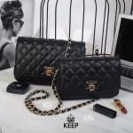 กระเป๋าแบรนด์ KEEP รุ่น Keep spell chain bag มี 2 ขนาด mini 8 นิ้ว และ classic 10 นิ้ว