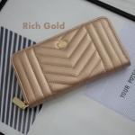 กระเป๋าสตางค์ KEEP รุ่น Richly long zipper มี 7 สี ดำ,เงินเมทาลิค, Wink Blue, Classy gold, Rich gold, Pink gold, Berry red