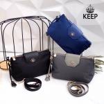 กระเป๋าแบรนด์ Keep รุ่น MoMo ขนาด 10 นิ้ว มี 3 สี ดำ, กรม, เทาเงิน