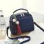 ขายส่ง กระเป๋าถือและสะพายข้าง ผู้หญิง แฟชั่นสไตล์เกาหลี รหัส KO-4556 สีน้ำเงิน *แถมพู่ห้อย thumbnail 1