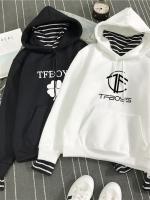 เสื้อฮู้ดแจ็คเก็ต พิมพ์ลาย TFBOYS มี2สี