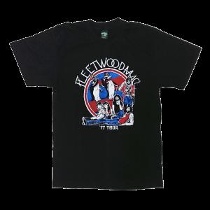 เสื้อยืด วง Fleetwood Mac แขนสั้น งาน Vintage ลายไม่ชัด ทุกขนาด S-XXL [Easyriders]