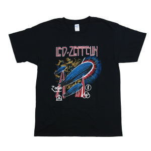 เสื้อยืดวง Led Zeppelin ผ้า Gildan xS-3XL [Gildan]