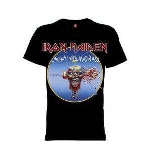 เสื้อยืด วง Iron Maiden แขนสั้น แขนยาว S M L XL XXL [30]