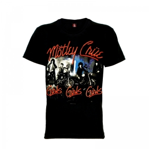 เสื้อยืด วง Motley Crue แขนสั้น แขนยาว S M L XL XXL [1]
