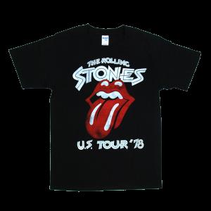 เสื้อยืดวง Rolling Stones ผ้า Gildan xS-3XL [Gildan]