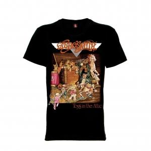 เสื้อยืด วง Aerosmith แขนสั้น แขนยาว สั่งได้ทุกขนาด S-XXL [Rock Yeah]