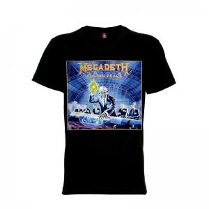 เสื้อยืด วง Megadeth แขนสั้น แขนยาว S M L XL XXL [2]