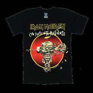 เสื้อยืด วง Iron Maiden แขนสั้น แขนยาว S M L XL XXL [3]