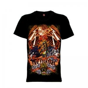 เสื้อยืด วง Foo Fighters แขนสั้น แขนยาว S M L XL XXL [1]