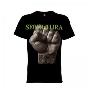 เสื้อยืด วง Sepultura แขนสั้น แขนยาว S M L XL XXL [2]