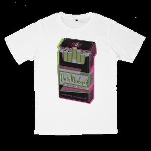 เสื้อยืด วง Arctic Monkeys สีขาว แขนสั้น S M L XL XXL [3]