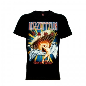 เสื้อยืด วง Led Zeppelin แขนสั้น แขนยาว S M L XL XXL [4]