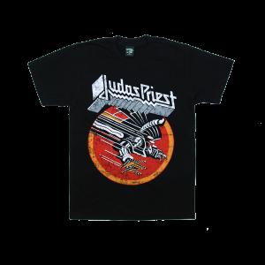 เสื้อยืด วง Judas Priest แขนสั้น งาน Vintage ลายไม่ชัด ทุกขนาด S-XXL [Easyriders]