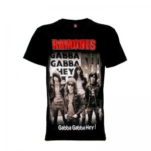 เสื้อยืด วง Ramones แขนสั้น แขนยาว S M L XL XXL [3]