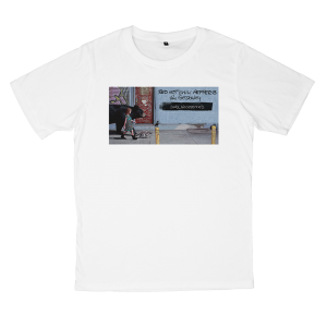 เสื้อยืด วง Red Hot Chili Peppers สีขาว แขนสั้น S M L XL XXL [3]