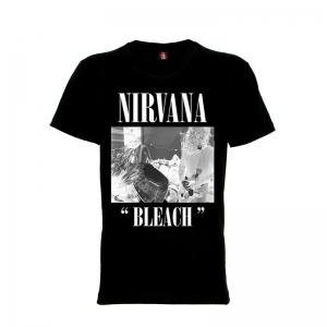 เสื้อยืด วง Nirvana แขนสั้น แขนยาว S M L XL XXL [15]