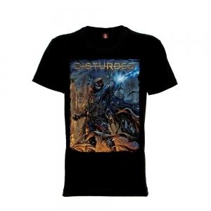 เสื้อยืด วง Disturbed แขนสั้น แขนยาว สั่งได้ทุกขนาด S-XXL [Rock Yeah]
