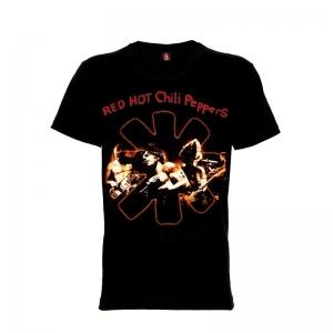 เสื้อยืด วง Red Hot Chili Peppers แขนสั้น แขนยาว S M L XL XXL [4]