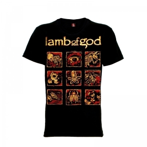 เสื้อยืด วง Lamb of God แขนสั้น แขนยาว S M L XL XXL [2]
