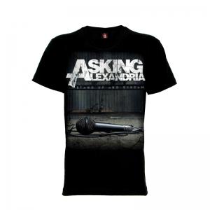 เสื้อยืด วง Asking Alexandria แขนสั้น แขนยาว S M L XL XXL [2]
