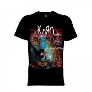 เสื้อยืด วง Korn แขนสั้น แขนยาว S M L XL XXL [6]