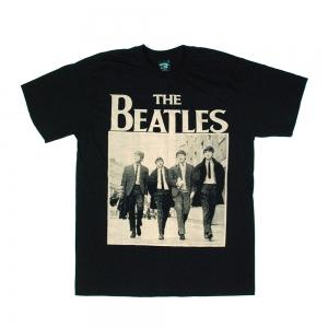 เสื้อยืด วง The Beatles แขนสั้น งาน Vintage ลายไม่ชัด ทุกขนาด S-XXL [Easyriders]