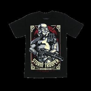 เสื้อยืด วง Stormtrooper แขนสั้น สกรีนเฉพาะด้านหน้า สั่งได้ทุกขนาด S-XXL [MARVEL]