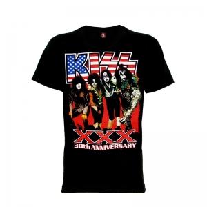 เสื้อยืด วง KISS แขนสั้น แขนยาว S M L XL XXL [3]