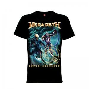 เสื้อยืด วง Megadeth แขนสั้น แขนยาว S M L XL XXL [14]