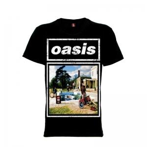เสื้อยืด วง Oasis แขนสั้น แขนยาว S M L XL XXL [5]