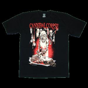 เสื้อยืด วง Cannibal Corpse แขนสั้น สกรีนเฉพาะด้านหน้า สั่งได้ทุกขนาด S-XXL [NTS]
