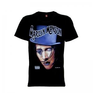 เสื้อยืด วง Marilyn Manson แขนสั้น แขนยาว S M L XL XXL [1]