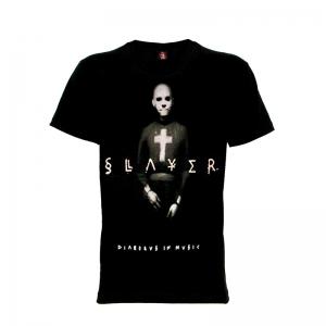 เสื้อยืด วง Slayer แขนสั้น แขนยาว S M L XL XXL [3]
