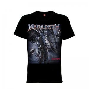 เสื้อยืด วง Megadeth แขนสั้น แขนยาว S M L XL XXL [16]